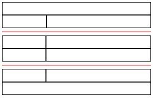 таблица после разбивки