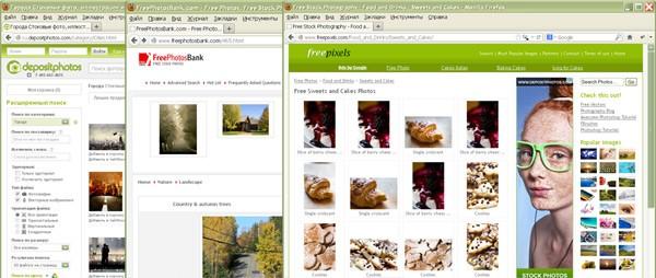 Бесплатные фотобанки - источник картинок для сайта